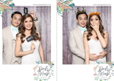 Pose And Print Photobooth Template - 2 shots