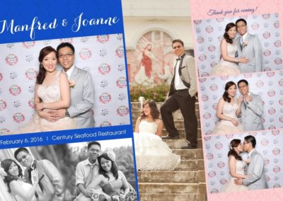 Pose And Print Photobooth Template - 4 shots